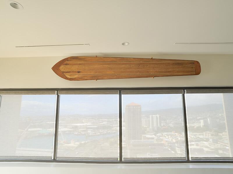 Alaia surfboard by Leleo Kinimaka