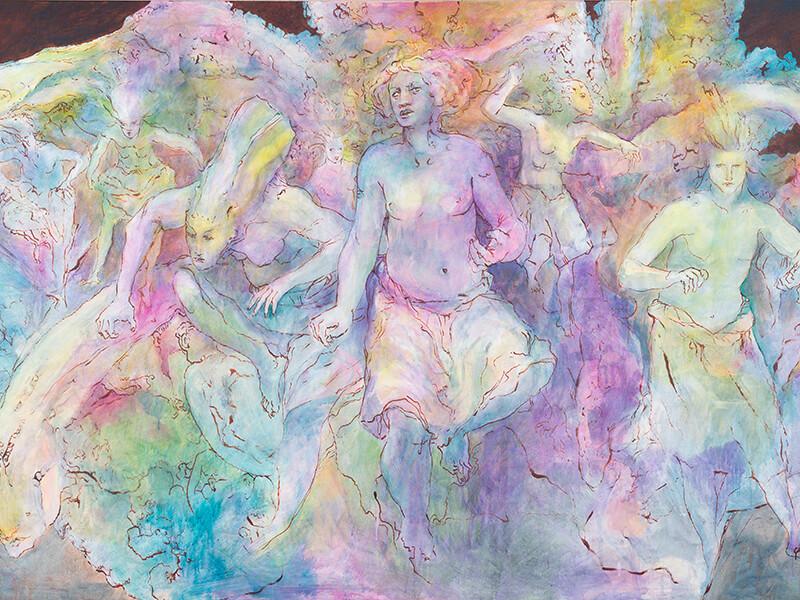 Moo-I-Nanea Painting by Solomon Enos