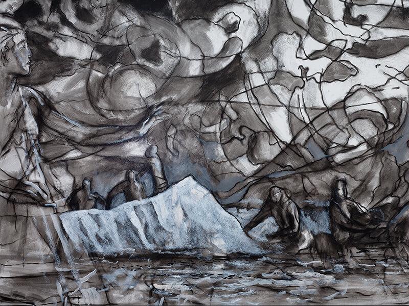 Solomon Enos Mural Awa