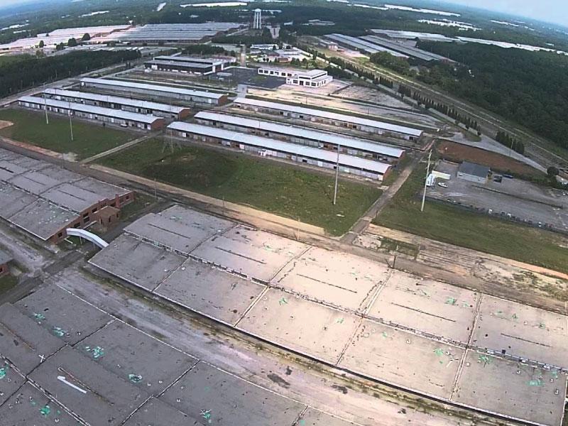 Fort Gillem Aerial Shot